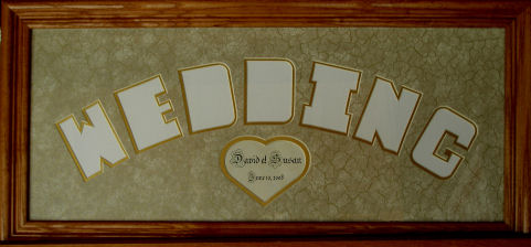 4144cb38539c Name Photo Mats  Custom Cut-Out Letters for Photos